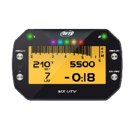 AiM MX UTV Polaris RZR Dash Logger