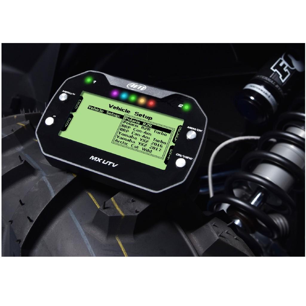 AiM MX UTV Yamaha YXZ Dash Logger