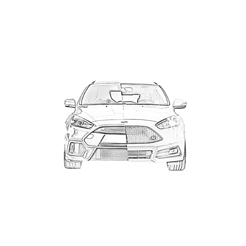 MeLe Design Firm - Focus ST/RS Battery Mount
