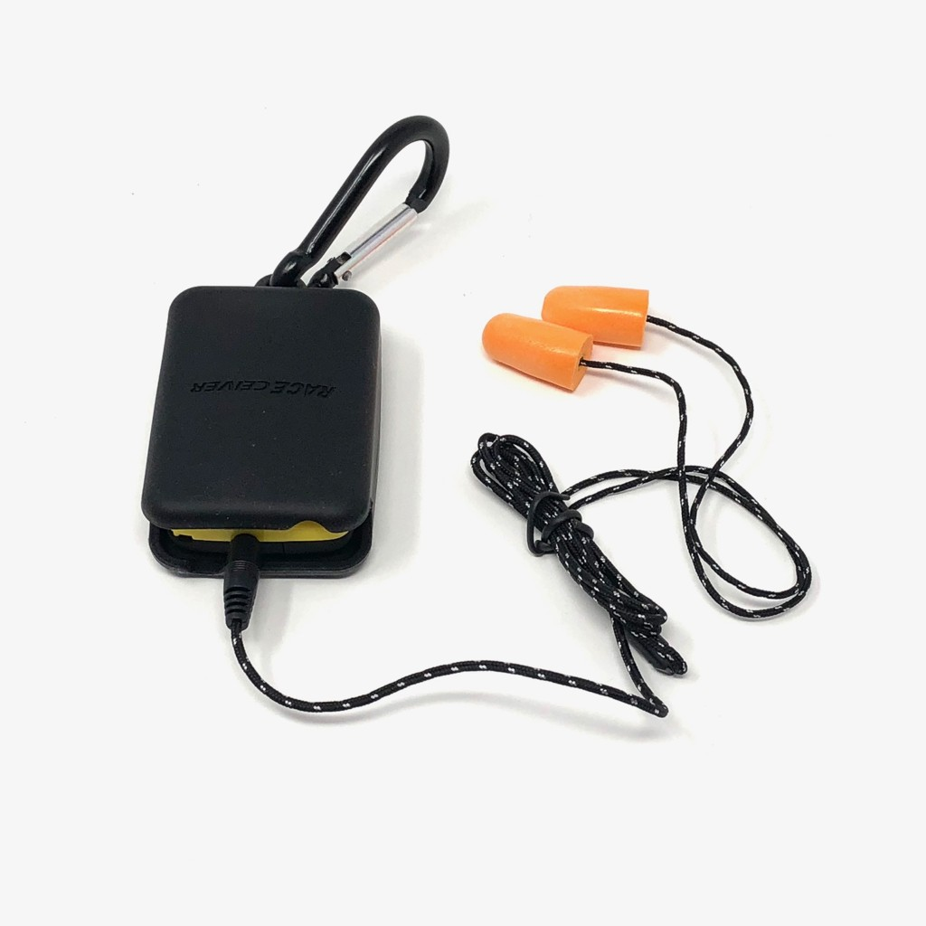 RACEceiver Rubber Holster & Clip