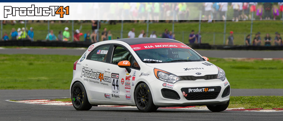 Product41 B-Spec KIA, 2014 SCCA National Champion Kyle Keenan