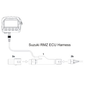 AiM Suzuki RMZ ECU Harness