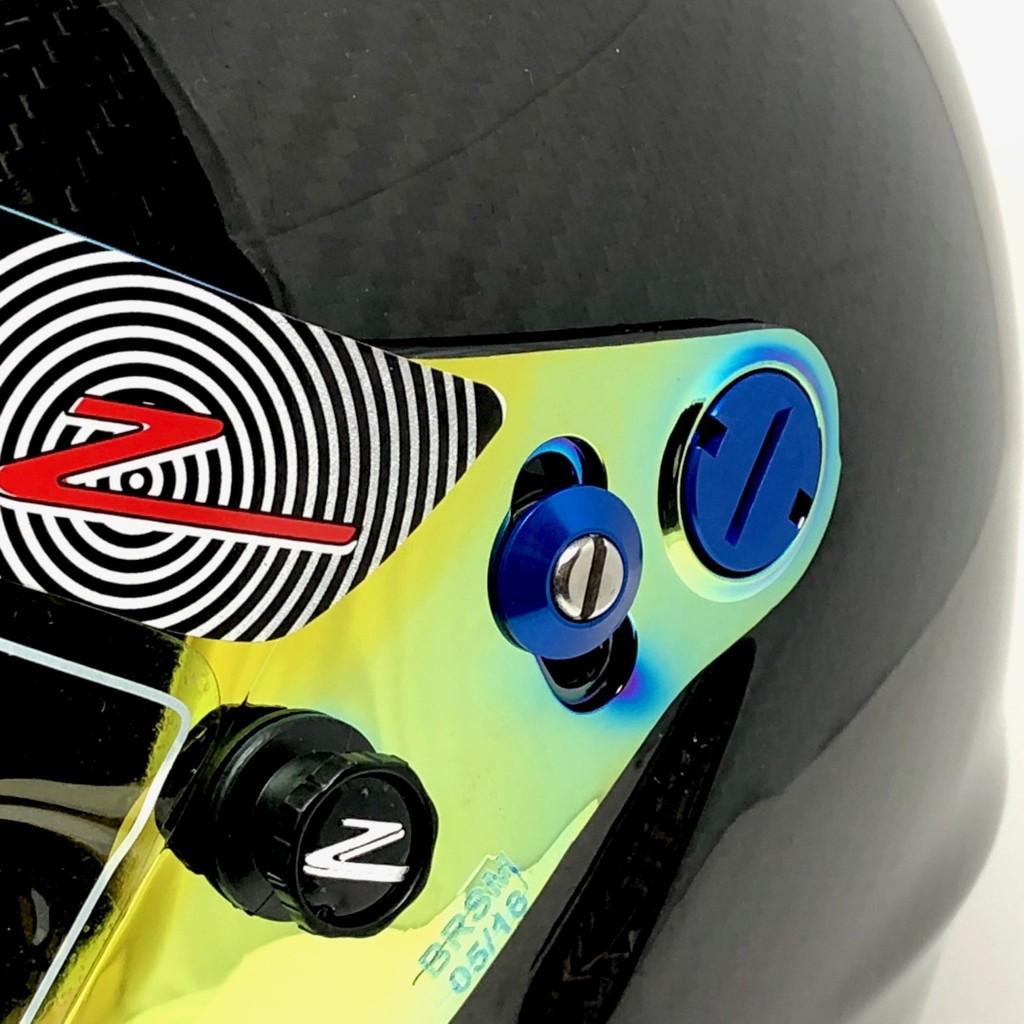 Colored Shield Pivot Kit 6pc - Zamp RZ Series