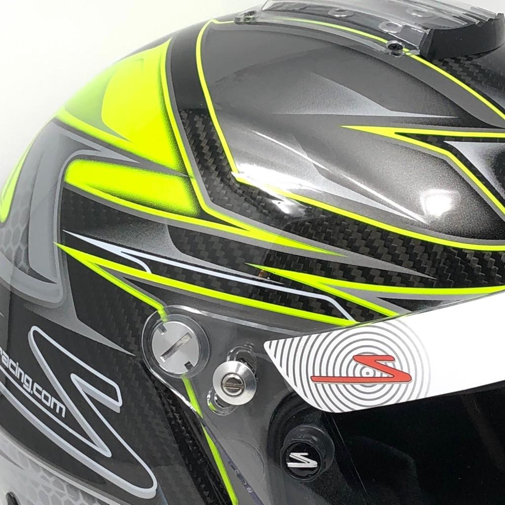 RZ-44CE Carbon Green FIA 8859-2015