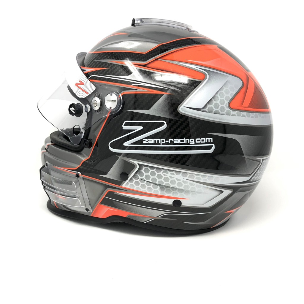 RZ-44CE Carbon Orange FIA 8859-2015