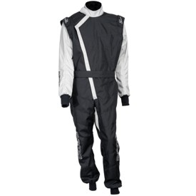 ZK-40 Youth Karting Suit - Black
