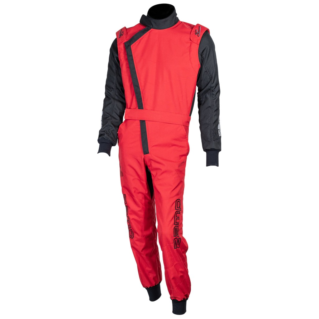 ZK-40 Youth Karting Suit - Red